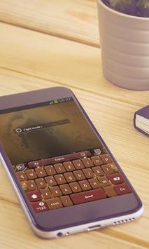 Sepia Fight Keyboard Art apk screenshot