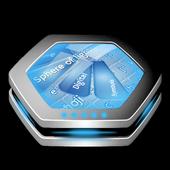 Sphere of lights Keyboard Art icon