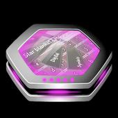 Star blanket Keyboard Art icon