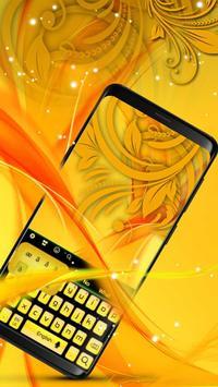 Yellow Keyboard poster