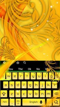 Yellow Keyboard apk screenshot