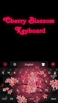 Cherry Blossom Keyboard apk screenshot