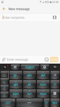 Black Keyboard apk screenshot