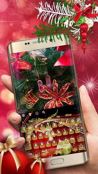 Christmas Keyboard poster