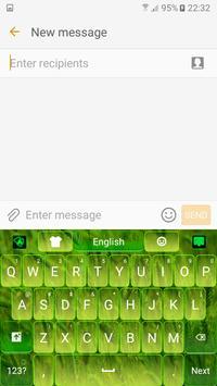 Green Nature Keyboard apk screenshot