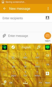 Luxurious Gold Keyboard screenshot 4