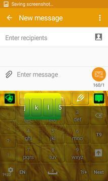 Luxurious Gold Keyboard screenshot 5