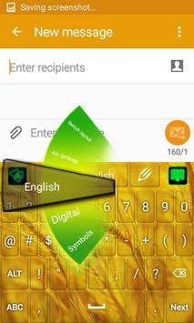 Luxurious Gold Keyboard screenshot 3