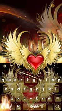 Red Heart Flame Keyboard ❤️ screenshot 2