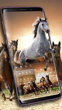Wild Horses Keyboard poster