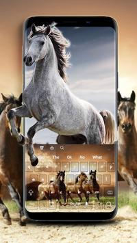 Wild Horses Keyboard apk screenshot