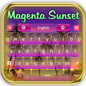 Crazy Magenta Keyboard icon