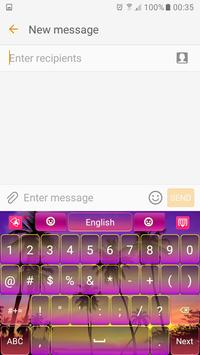 Crazy Magenta Keyboard apk screenshot