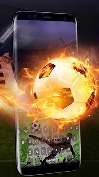 Football Player Keyboard poster