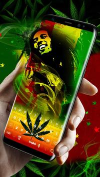 Weed Reggae Keyboard apk screenshot