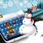 Snowman Keyboard icon