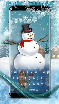 Snowman Keyboard screenshot 1