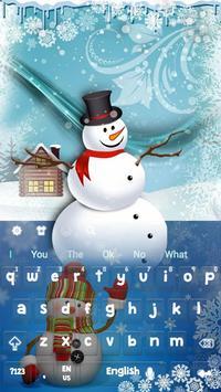 Snowman Keyboard screenshot 3