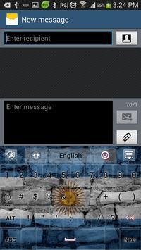 Argentina GO Keyboard screenshot 3