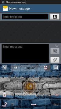 Argentina GO Keyboard screenshot 1