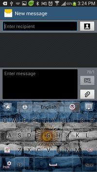 Argentina GO Keyboard screenshot 2