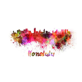 Honolulu GO Keyboard theme icon