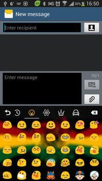 Rasta Weed GO Keyboard apk screenshot
