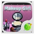 Makeup Girl Keyboard Theme