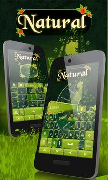 Natural GO Keyboard Theme poster