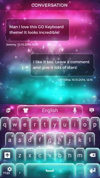 Galaxy Keyboard Theme apk screenshot