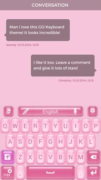 Free Pinky Keyboard Theme apk screenshot