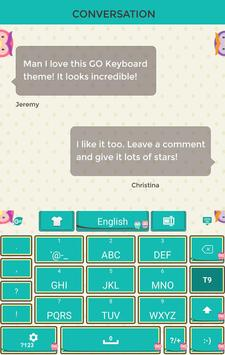 Sweet Owl Keyboard Theme apk screenshot