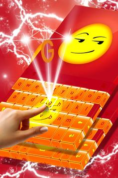 Smirk Emoji Keyboard Theme screenshot 1