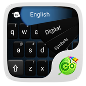 GO Keyboard Simple Black Theme icon