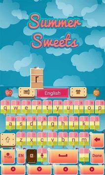 Summer Sweets Keyboard Theme screenshot 4