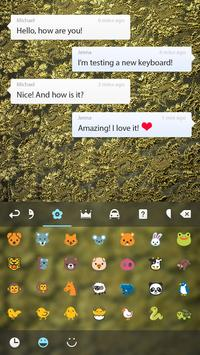 Gold Lace Theme apk screenshot