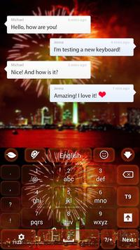 Fireworks Theme apk screenshot