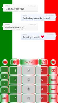 Italy GO Keyboard apk screenshot