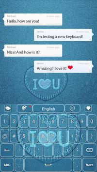 Jeans Keyboard apk screenshot