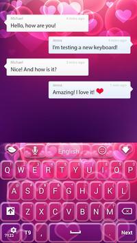 Neon Love Keyboard apk screenshot