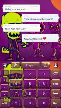 Scary Zombies Theme apk screenshot