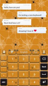 Spider Web Keyboard apk screenshot