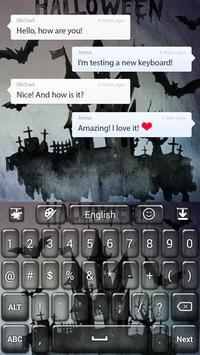 Thriller Keyboard apk screenshot