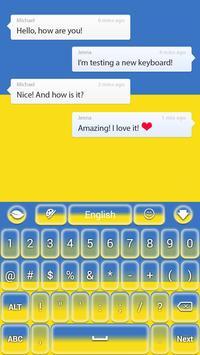 Ukraine Keyboard apk screenshot