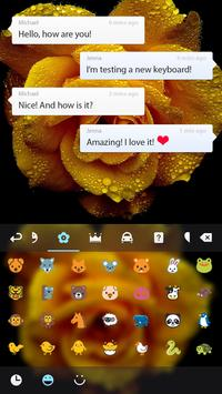 Yellow Rose Keyboard screenshot 3