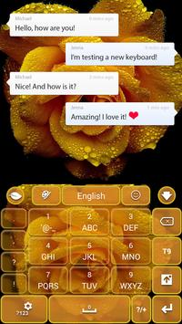 Yellow Rose Keyboard screenshot 5