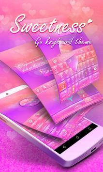Sweetness GO Keyboard Theme poster