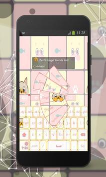 Kitty Keyboard apk screenshot