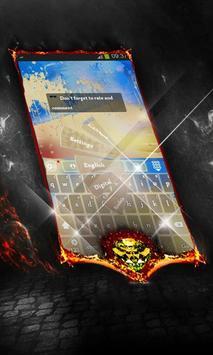 Golden trees Keyboard Cover apk screenshot