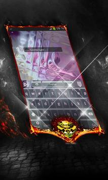 Gentle light Keyboard Cover apk screenshot